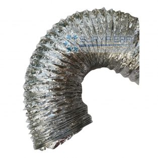 Flexible Duct Non Insulasi