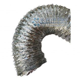 Flexible Duct Non Insulasi